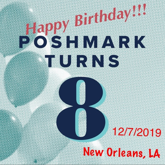 Poshmark turns 8!!!